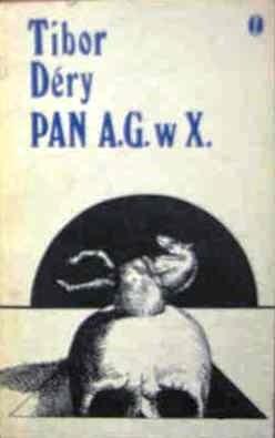 Okładka książki Pan A.G. w X.