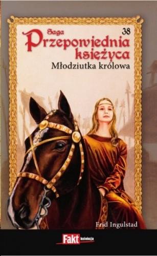 Okładka książki Młodziutka królowa