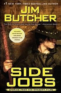 Okładka książki Side Jobs: Stories From the Dresden Files
