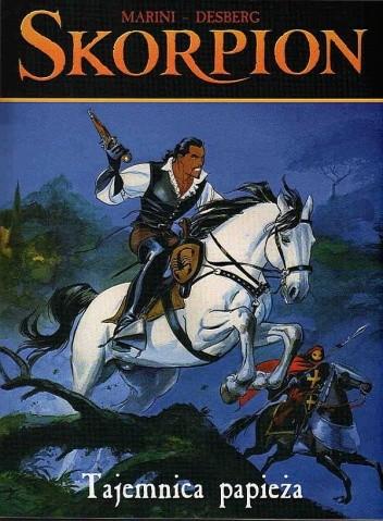 Okładka książki Skorpion: Tajemnica papieża