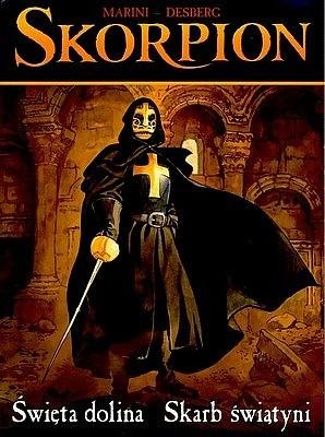 Okładka książki Skorpion: Święta dolina / Skarb świątyni