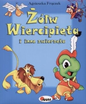 Okładka książki Żółw Wiercipięta i Inne Zwierzęta