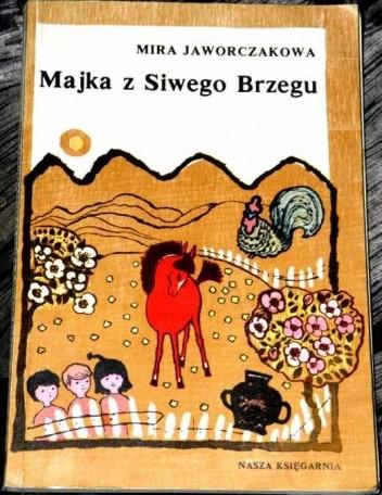 Okładka książki Majka z Siwego Brzegu