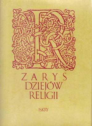 Okładka książki Zarys dziejów religii