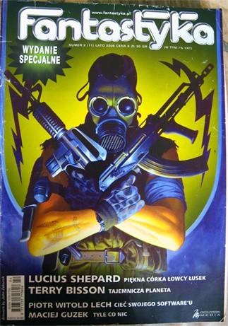 Okładka książki Fantastyka Wydanie Specjalne 2 (11)/2006