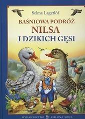 Okładka książki Baśniowa podróż Nilsa i dzikich gęsi