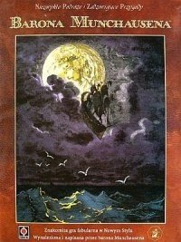 Okładka książki Niezwykłe Podróże i Zadziwiające Przygody Barona Munchausena