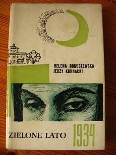 Okładka książki Zielone lato 1934