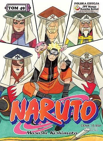 Okładka książki Naruto tom 49