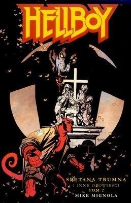 Okładka książki Hellboy: Spętana trumna i inne opowieści, tom 2