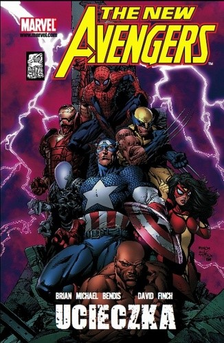 Okładka książki New Avengers - 1 - Ucieczka