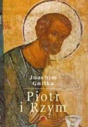 Okładka książki Piotr i Rzym. Obraz Piotra w pierwszych dwu wielkach
