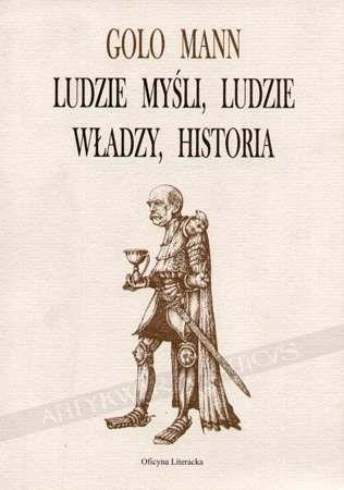 Okładka książki Ludzie myśli, ludzie władzy, historia