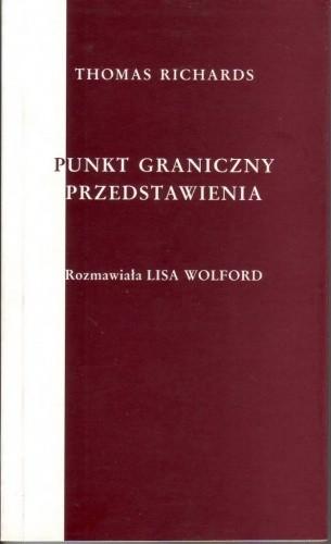 Okładka książki Punkt graniczny przedstawienia