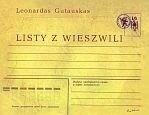 Okładka książki Listy z Wieszwili