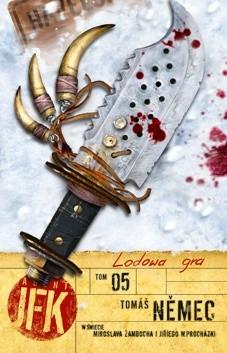 Okładka książki Agent JFK 5: Lodowa gra