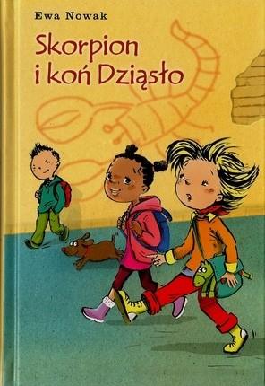 Okładka książki Skorpion i koń Dziąsło