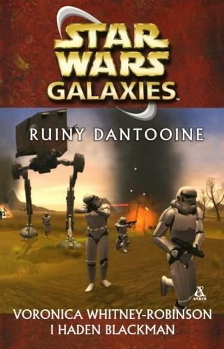 Okładka książki Star Wars Galaxies: Ruiny Dantooine