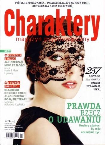 Okładka książki Charaktery, nr 3 (170) / marzec 2011