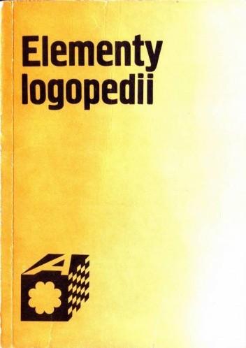Okładka książki Elementy logopedii