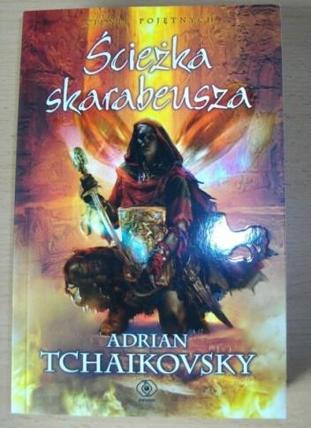 Okładka książki Ścieżka Skarabeusza