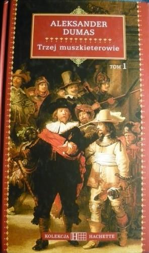 Okładka książki Trzej muszkieterowie t.1-2