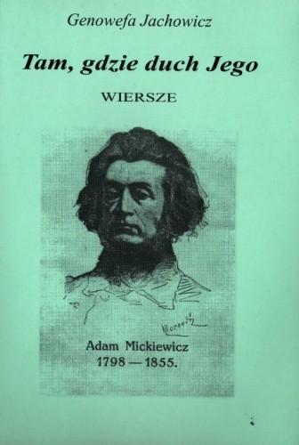 Okładka książki Tam, gdzie duch Jego