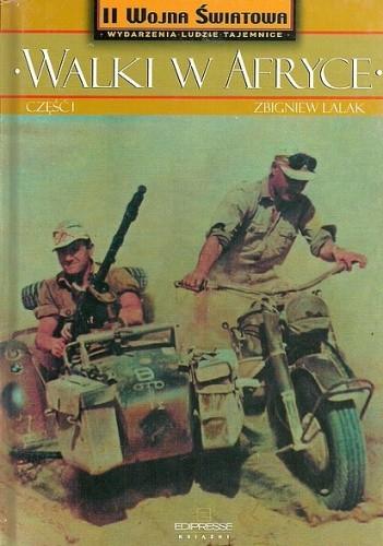 Okładka książki Walki w Afryce. Część I
