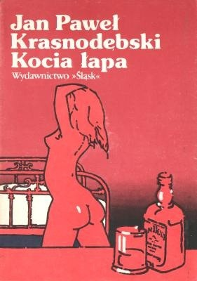 Okładka książki Kocia łapa