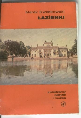 Okładka książki Łazienki