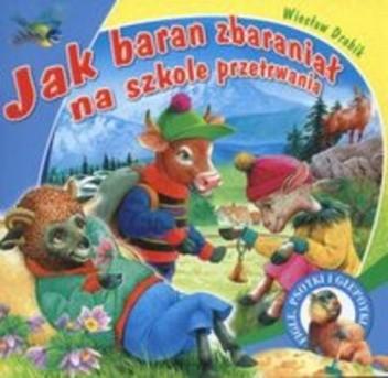 Okładka książki Jak baran zbaraniał na szkole przetrwania