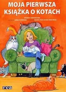 Okładka książki Moja pierwsza książka o kotach