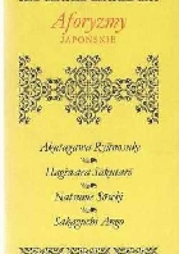 Okładka książki Aforyzmy japońskie