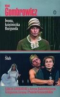 Okładka książki Iwona, księżniczka Burgunda. Ślub