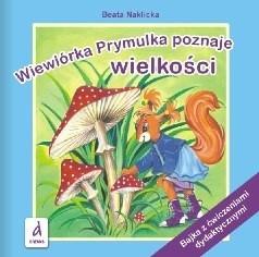 Okładka książki Wiewiórka Prymulka poznaje wielkości