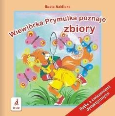 Okładka książki Wiewiórka Prymulka poznaje zbiory