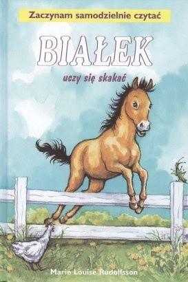 Okładka książki Białek uczy się skakać