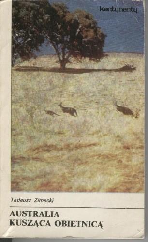 Okładka książki Australia kusząca obietnicą