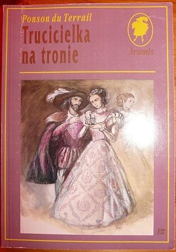 Okładka książki Trucicielka na tronie