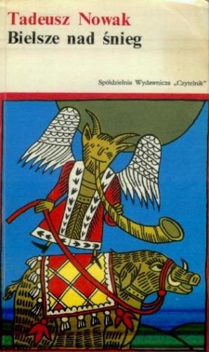 Okładka książki Bielsze nad śnieg