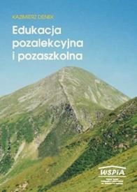 Okładka książki Edukacja pozalekcyjna i pozaszkolna