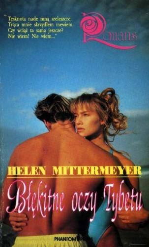 Okładka książki Błękitne oczy Tybetu