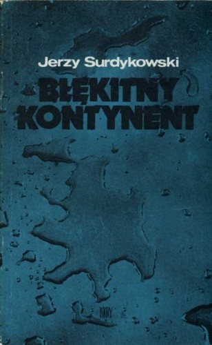 Okładka książki Błękitny kontynent