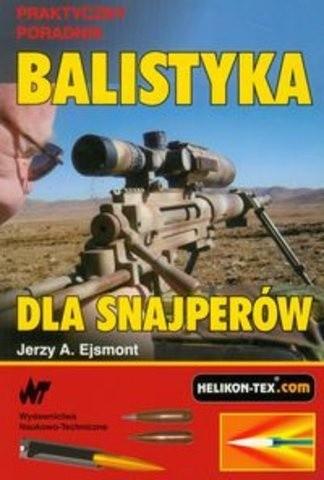 Okładka książki Balistyka dla snajperów