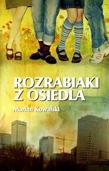 Okładka książki Rozrabiaki z osiedla