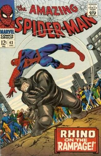 Okładka książki Amazing Spider-Man - #043 - Rhino on the Rampage!