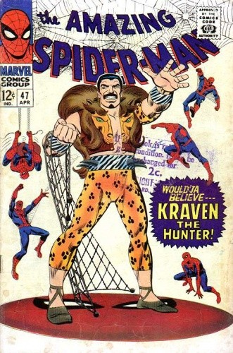 Okładka książki Amazing Spider-Man - #047 - In the Hands of the Hunter