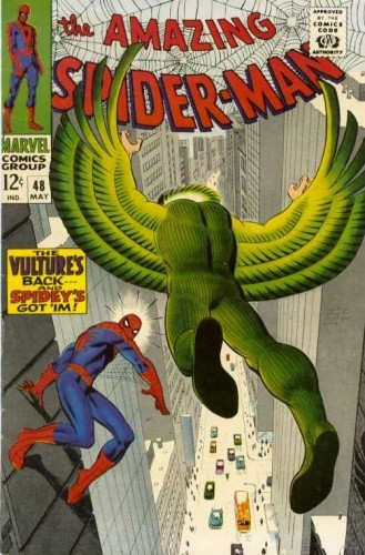 Okładka książki Amazing Spider-Man - #048 - The Wings of the Vulture