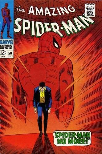 Okładka książki Amazing Spider-Man - #050 - Spider-Man No More!