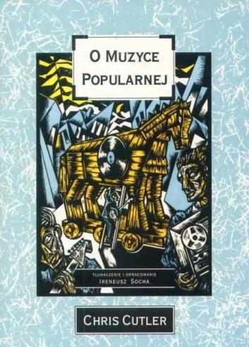 Okładka książki O muzyce popularnej